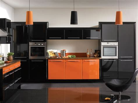 39 best black gloss images on black kitchens
