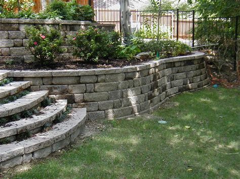 backyard rock wall crabapple landscapexperts how crabapple builds your stone
