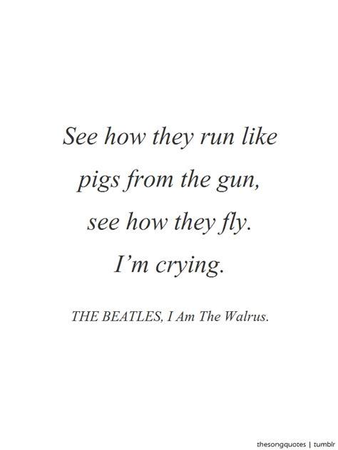 The Beatles Lyrics Tumblr