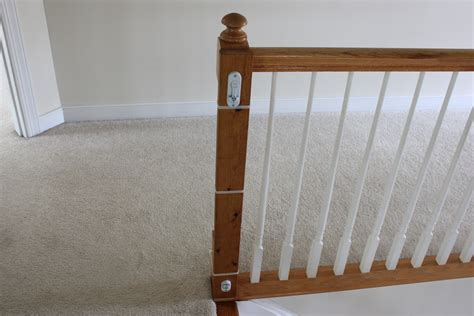 top of stairs banister baby gate top of stairs baby gate with banister neaucomic com