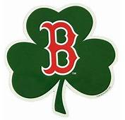 BOSTON RED SOX SHAMROCK LOGO OFFICIAL CAR MAGNET  Boston