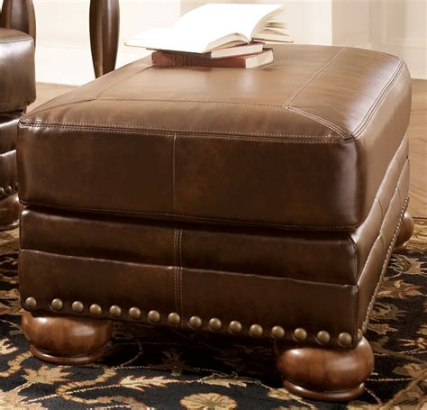 Antique Ottoman Chaling Durablend Antique Ottoman From 9920014 Coleman Furniture