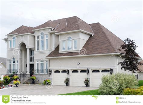 exclusive house new luxury house stock images image 6061614