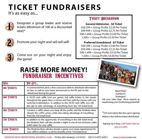 fundraiser tickets modesto nuts tickets
