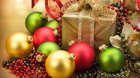 hd christmas ornaments background wallpaper