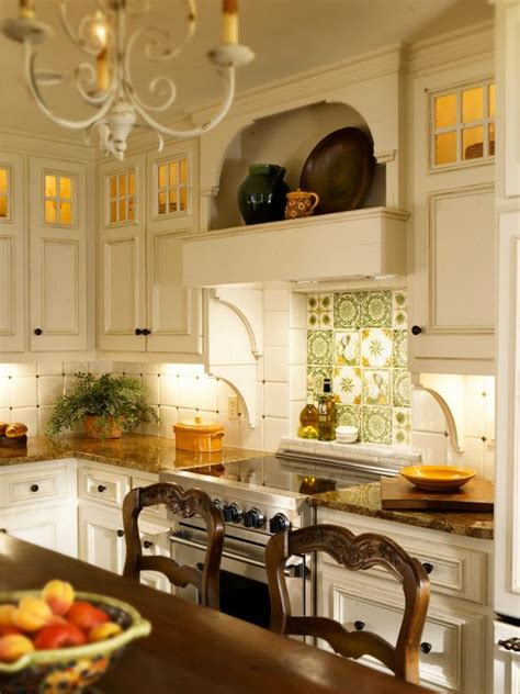 french country kitchen backsplash photo page hgtv