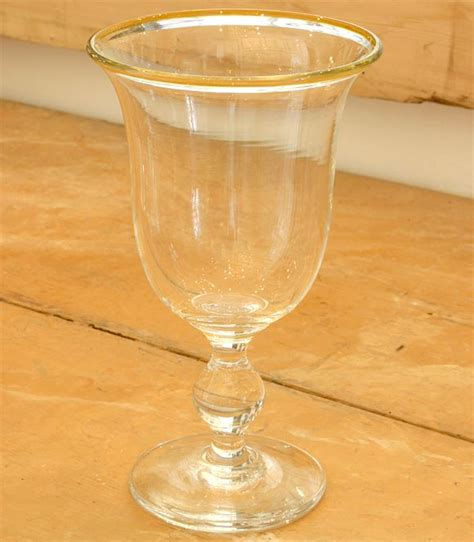 Handmade Glass Tumblers - handmade water glasses wine goblets and tumblers at 1stdibs