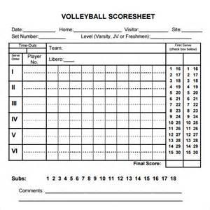 Simple Score Sheet by Sle Score Sheet 9 Documents In Pdf