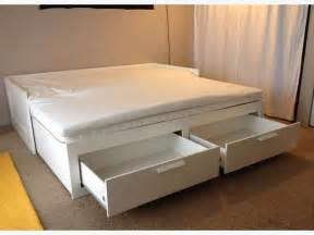 Ikea Daybed To King Ikea Brimnes Day Bed W Two Mattresses Pillow Top