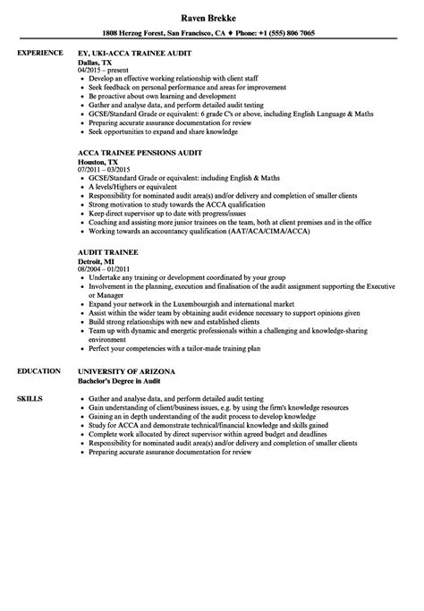 Audit Trainee Sle Resume by Resume Trainee Second Interviewing Dos Donts Chamber Of Commerce Director Description
