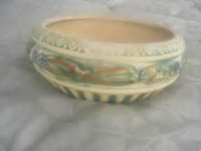 Roseville Pottery Planter by Vintage Roseville Matte Pottery Bowl Planter 9 Quot