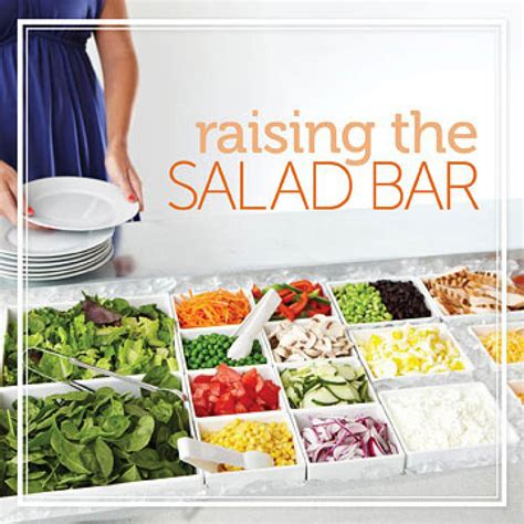 Salad Bar Savvy How To Make A Healthy Salad Diabetic How To Make A Buffet Bar