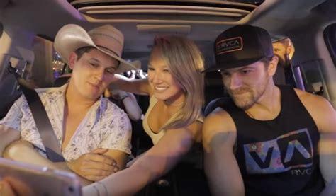 jon pardi fan jon pardi and kip take on carpool karaoke with fans