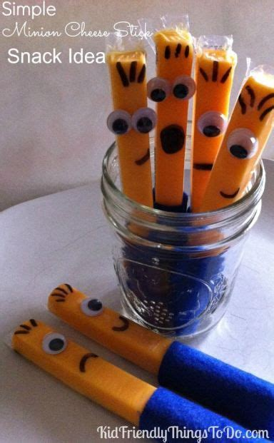 Snack Stick Keju Cheese Stick minions a minion and sticks on