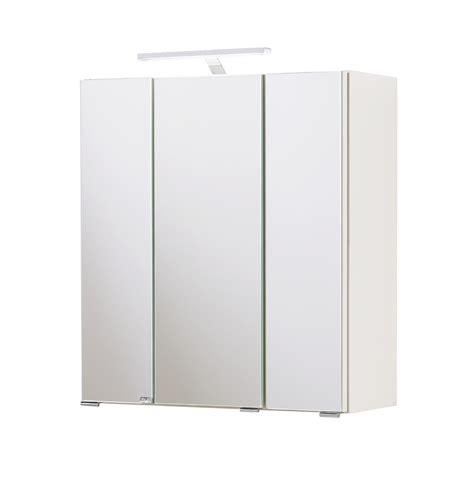 bad spiegelschrank mit beleuchtung bad spiegelschrank 3 t 252 rig mit beleuchtung 60 cm
