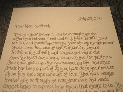 Groom and Bride Message to Their Parents   EverAfterGuide