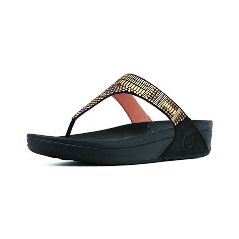 52 Sendal Wanita Flitflop Ukuran 39 fitflop fitflop design aztek chada black leather toe post sandal with metal stud trim and