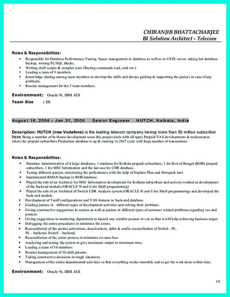 Data Architect Resume by In The Data Architect Resume One Must Describe The