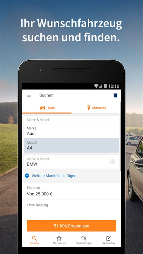 Auto Mobile 24 De by Autoscout24 Mobile Auto Suche Android Apps Auf Play