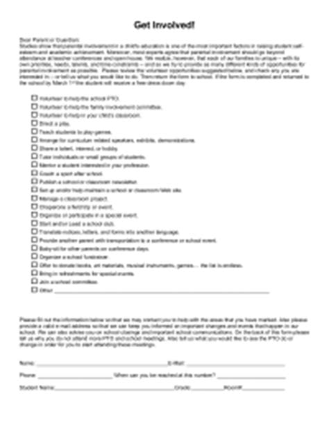 volunteer satisfaction survey template surveys pto today