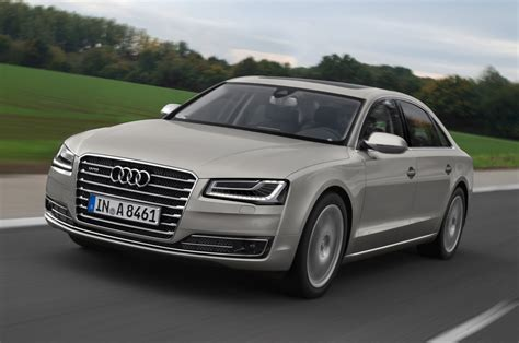 Audi A8 W12 2015 by 2015 Audi A8 L W12 Front Three Quarter Motion 2 Photo 2