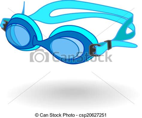 swimming illustrations and clipart can stock photo blue swimming goggles clipart vector search illustration
