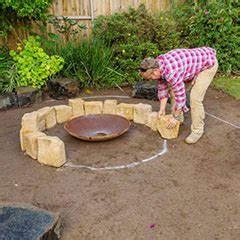 build a pit australia how to build an outdoor firepit