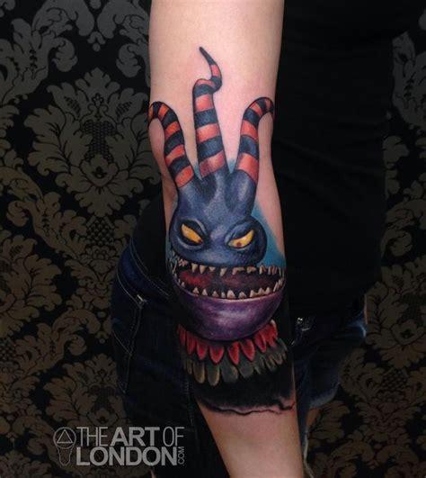 reese tattoo nightmares instagram nightmare before christmas harlequinn demon tattoo by