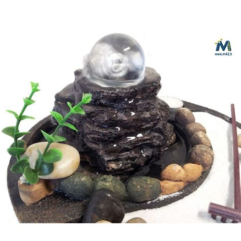 fontane da interno zen fontana da interno feng shui giardino zen con sfera in