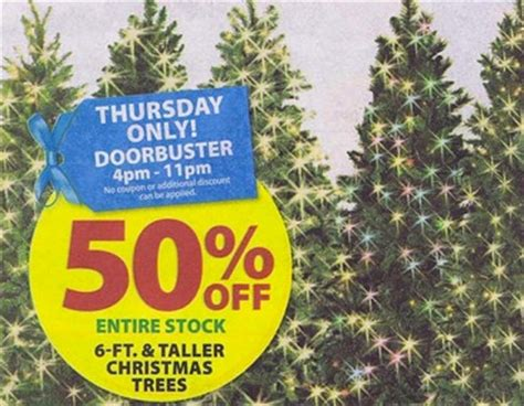 michael s black friday ad 50 off trees in ad coupons