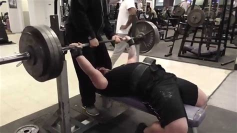 chris karmin max effort bench day doubles 395x2 2 9 15