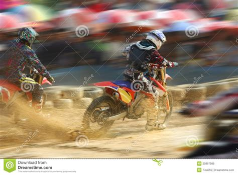 z racing motocross track motocross bikes racing speed royalty free stock images
