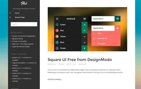 wordpress themes free responsive flat design 10 best free simple wordpress themes of 2014