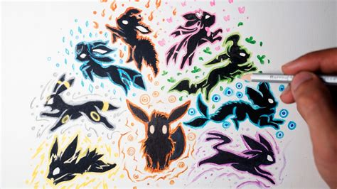 eevee tattoo eevee evolution drawing style shin