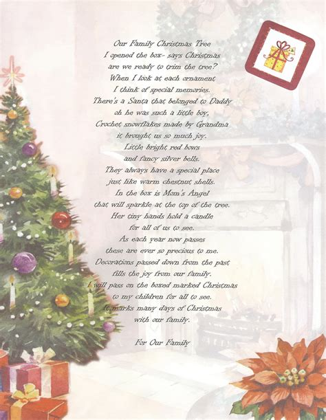 family christmas poems quotes