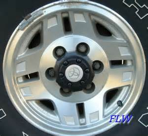 Wheels Toyota Truck Stock Toyota Truck Wheels Painted Black Toyota 4runner