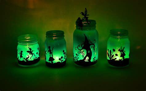 Lighted Mason Jars by Fairy Lanterns From Mason Jars Adventure In A Box