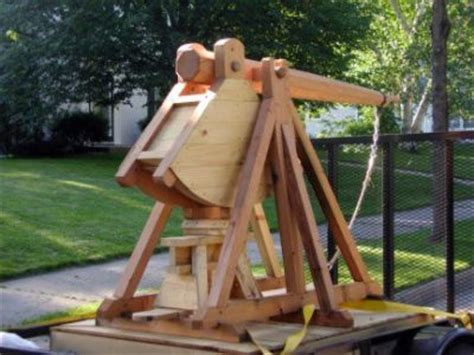 Handmade Catapults For Sale - eight trebuchet and catapult plans and blueprints