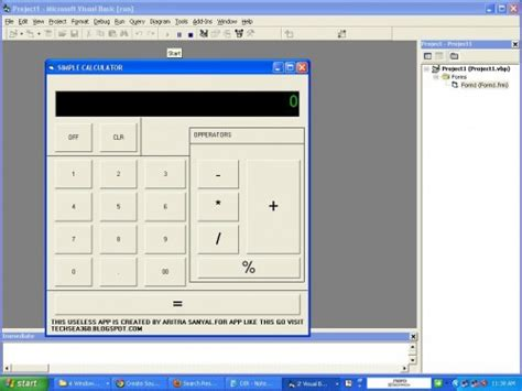 calculator vb net simple calculator project in vb6 free source code