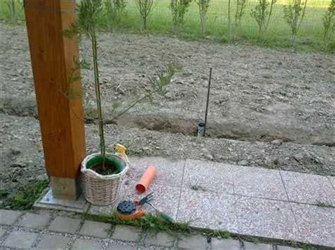 impianto elettrico in giardino 2012 giardino impianto irrigazione saccardin videop