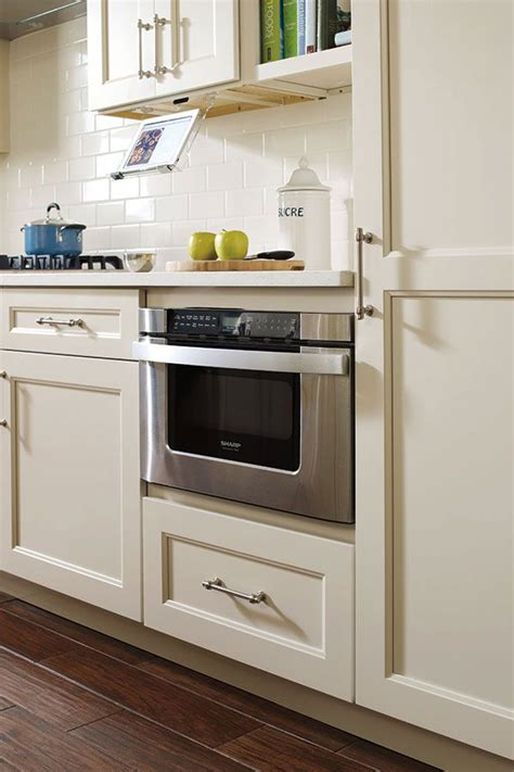 Kitchen Craft Cabinets Lowes A Growing Trend In Microwaves Is The Drawer Microwave