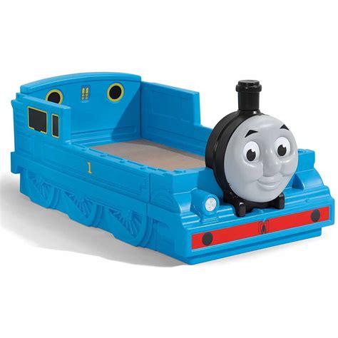 walmart toddler bed bundle step2 thomas the tank engine toddler bed and art box value bundle walmart com