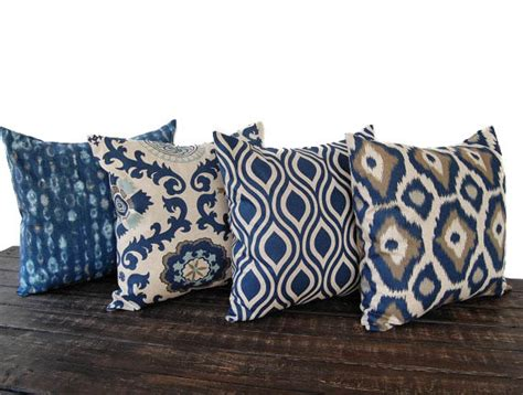 couch pillow sets items similar to throw pillow covers set of four blue gray