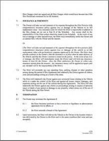 Car Hire Agreement Format India Best Photos Of New Hire Contract Template Sle