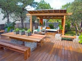 Backyard Pergola by Deck Design Ideas Outdoor Spaces Patio Ideas Decks
