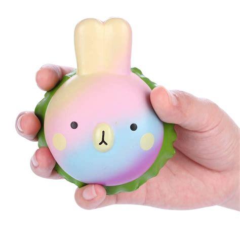 Squishy Bunny Egg vlo squishy rabbit hamburger bunny rising soft