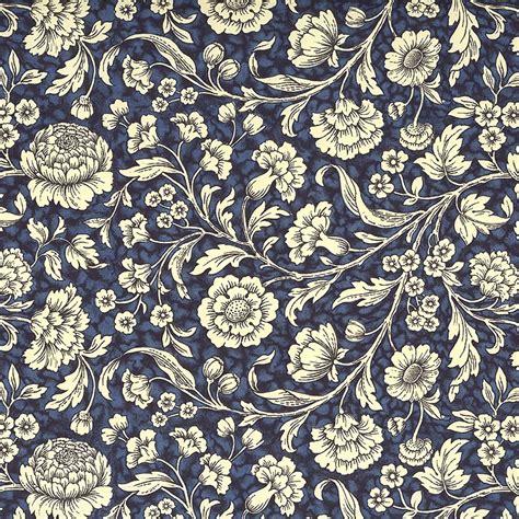 Decoupage Patterns - blue wildflowers print italian paper carta varese