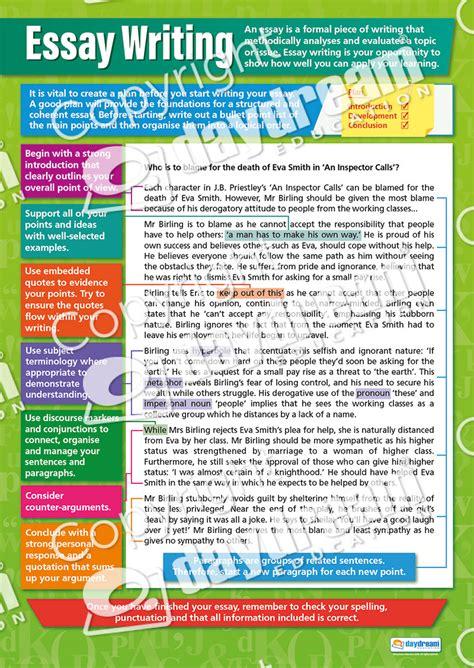 Grammar For Essay Writing by Essay Writing Grammar Poster