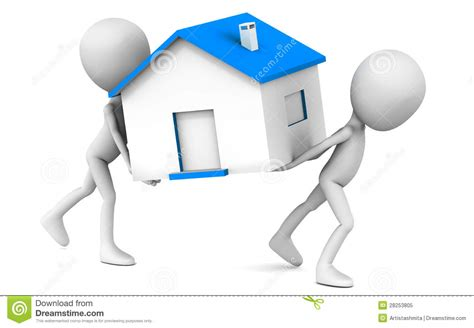 moving clipart moving home stock illustration illustration of house