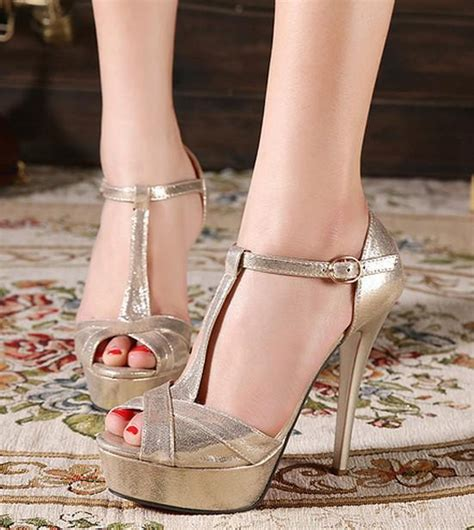 Guess Merica Gold Silver black gold 2014 peep toe ankle sandals for